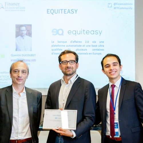 Equiteasy obtient le label Finance Innovation