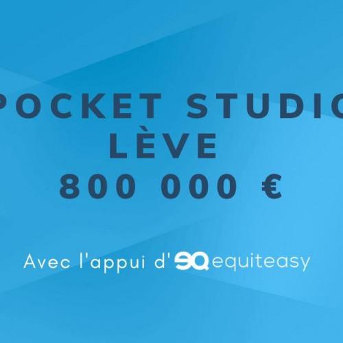 Levée de fonds de 800 000 euros pour PocketStudio